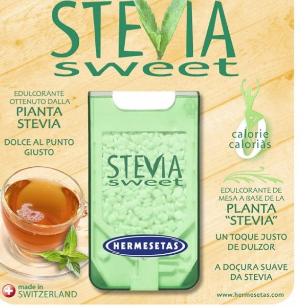 HERMESETAS STEVIA SWEET 300 COMPS